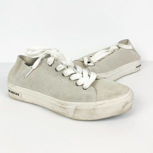 SeaVees | perforated suede lace up sneaker grey 9